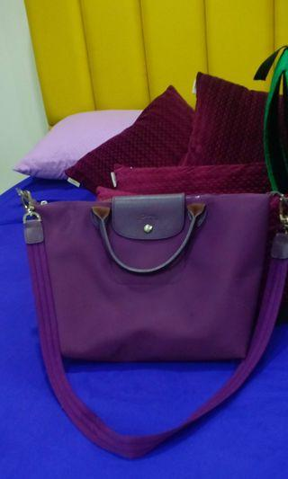#Ramadhan75 Longchamp Neo Medium Size Dark Purple