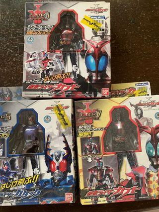 [WTS] Kamen rider kabuto figures set of 3