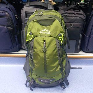 964 WILLPOWER 50L 優質尼龍背囊 Backpack 露營 行山