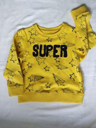 Sweater Mothercare yellow star
