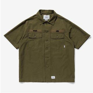 BUDS SS / SHIRT. COTTON. RIPSTOP
