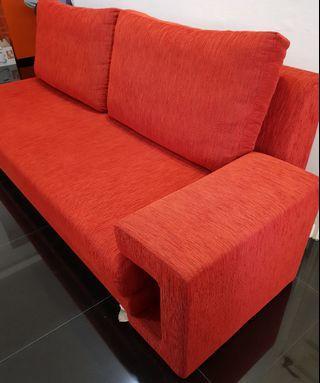 2M long Customised Fabric Sofa