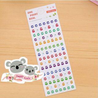 Mini Sticker/Planner Sticker/迷你萌贴纸/记事本设计