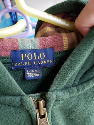 Polo Ralph Lauren Zip Up Size L