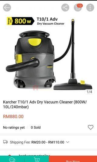 kracher Vacuum Cleaner