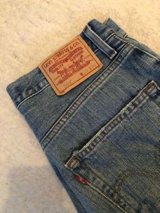 Levi's Cutoff Shorts