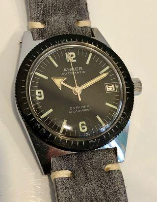 🚚 ANKER Vintage 369 Military Dive Watch