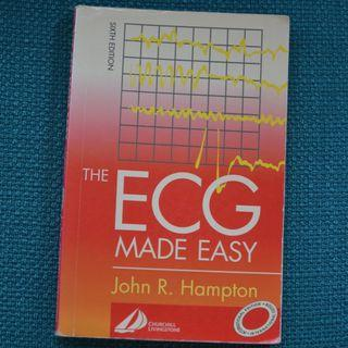Medical Textbook - The ECG Made Easy 6th ed