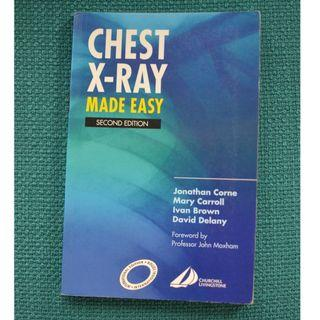 Medical textbook - Chest X-rays Made Easy 2nd ed