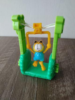 Garfield加菲膠玩具