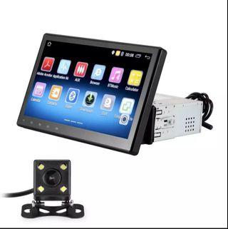 10 inch single din android head unit