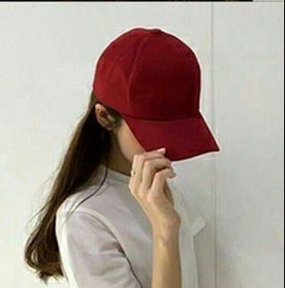 🚚 韓版素色百搭運動風帽子