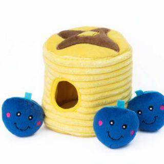 Zippy paws burrow toy - Blueberry Pancakes