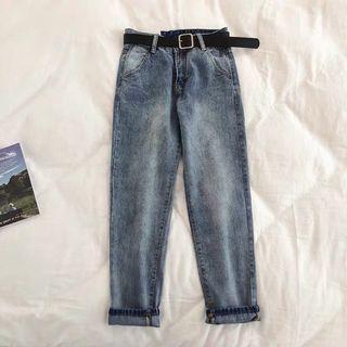 Comfy jeans + Belt