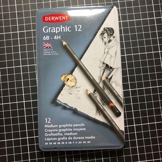 Graphic pencils set