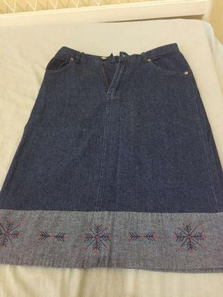 Hammer Skirt Jeans