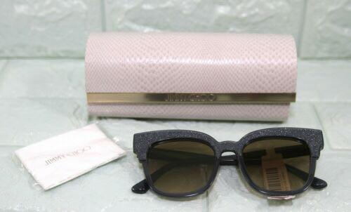 Jimmy Choo Mayels-M 50mm Glitter Square Sunglasses