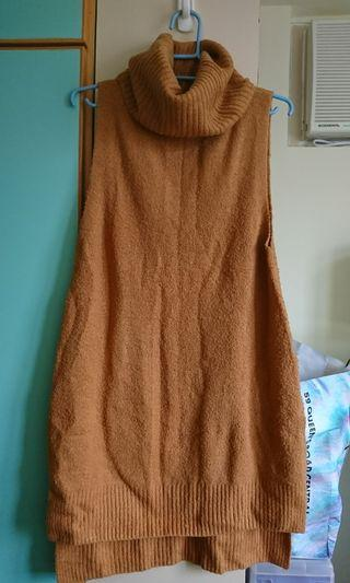 6IXTY8IGHT 冬季茶啡色裙