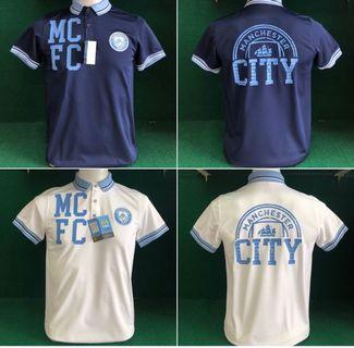 Man city polo tee with licence