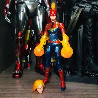 Marvel Legends Avengers Endgame Cap Marvel 隊長tain Marvel Avengers Infinity War 復仇者聯盟 無限之戰 終局之戰