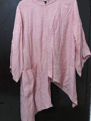 Muslim pink top