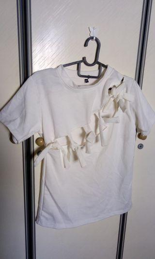 Cut out hipster thick t shirt