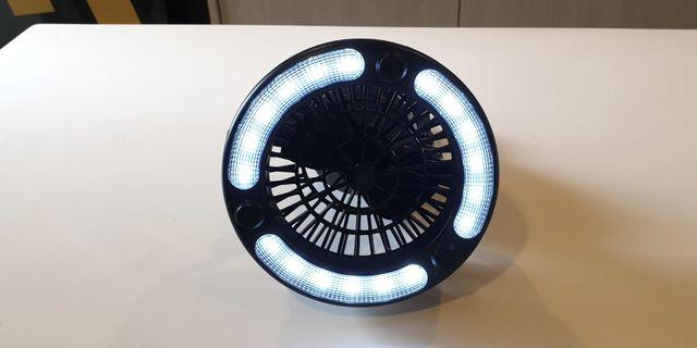 LED Light and Fan with Hook