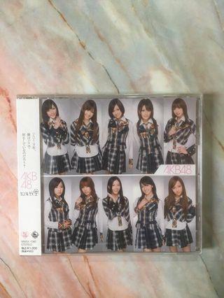 AKB48 十年櫻CD [100%全新]