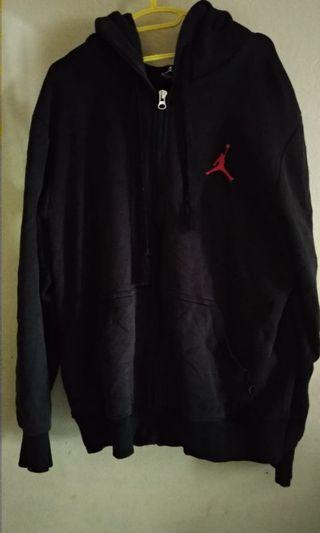 Air Jordan navy blue hoodie