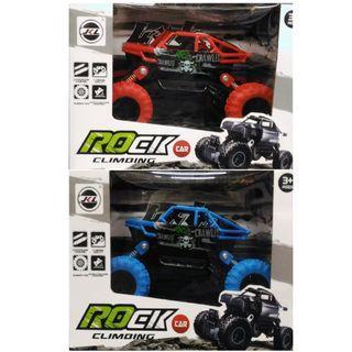 雙慣性大輪車(紅/藍)