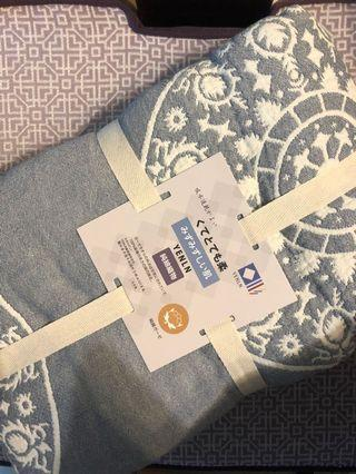 Cotton bed spread from japan