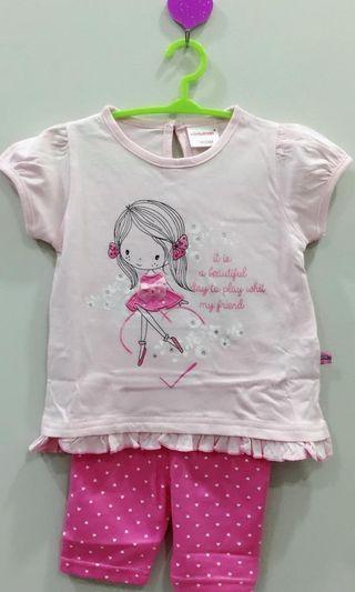 Baby girls one set clothe