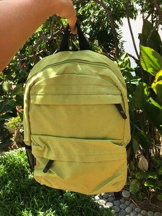 🚚 Small lime green backpack