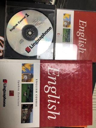 靈格風 Linguaphone 書及碟 學習英語