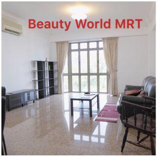 Near Beauty World MRT/shopping malls! 2 bedrms apt, furnished, spacious layout! Minimum 1 year lease, no agent's fee from tenants - Sherwood Condo