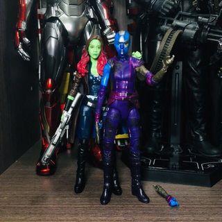 Marvel Legends Avengers Endgame Gamora Nebula Guardian of the Galaxy Thanos Daughter 銀河守護隊 復仇者聯盟 終局之戰 滅霸 薩諾斯 女兒 獵布拉 涅布拉 葛摩菈