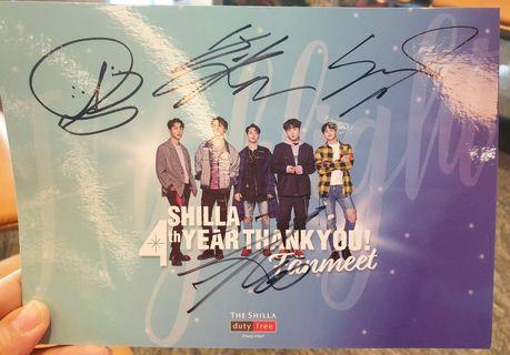 🚚 Autographed photo card from Highlight