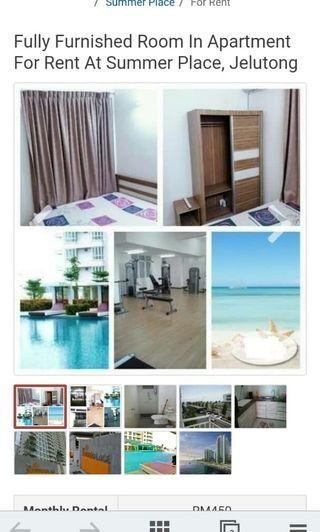 Summer Place Room For Rent In Penang