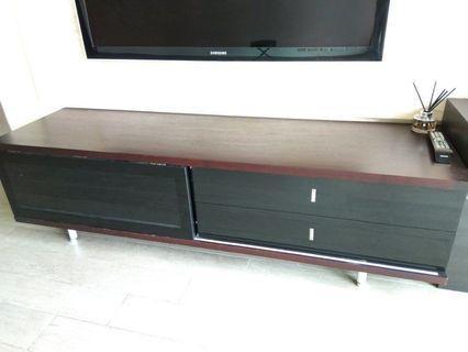 歐化實木電視地櫃