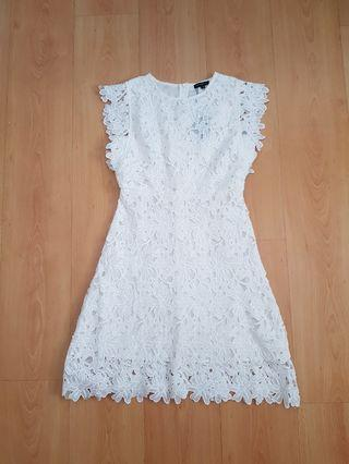 BNWT Dressabelle White Crochet Lace Dress