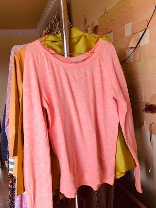 Sweater shock pink