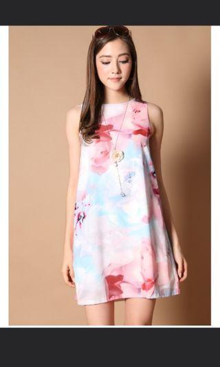 BN TSW Yoni Watercolour Dress