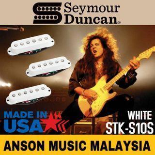 Seymour Duncan STK-S10s YJM Fury™ Strat Pickup Set, White
