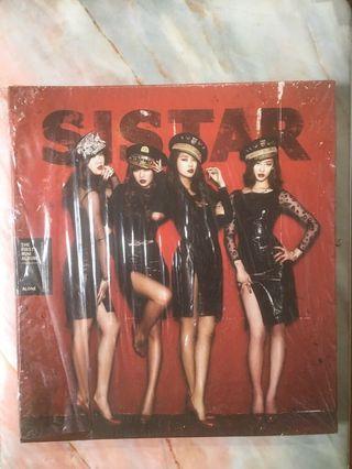 Sistar the first mini album