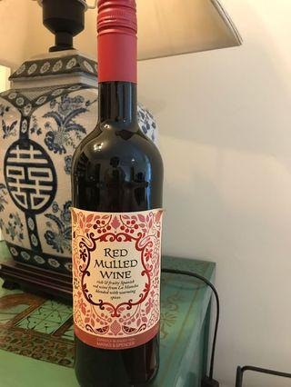 Red mulled wine from M&S