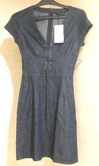 ZARA DRESS DENIM