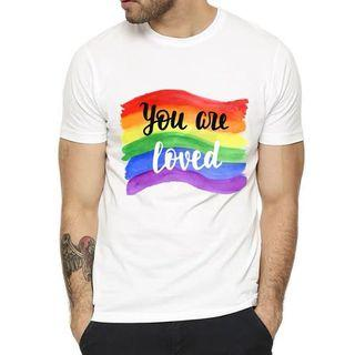 """Rainbow """"You Are Loved"""" Tee"""