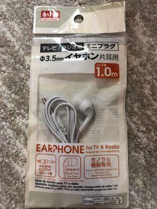 🚚 Daiso Earphone