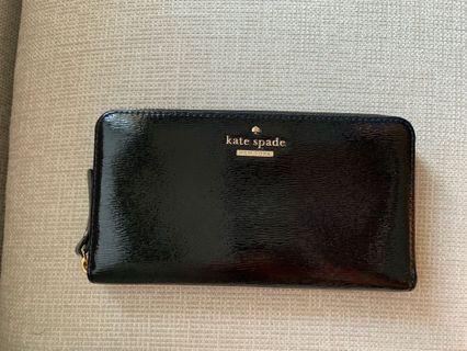 Kate Spade Black Long Wallet