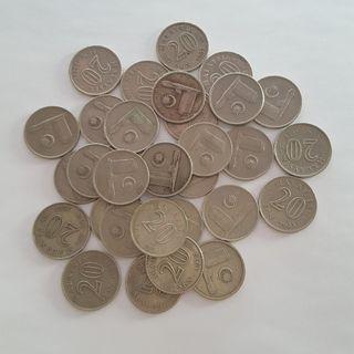 Malaysia Parliament House Twenty Sen Coin Lot